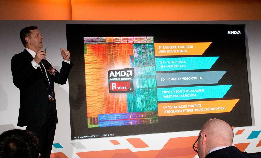 Scott Aylor forteller om AMDs R-serie.