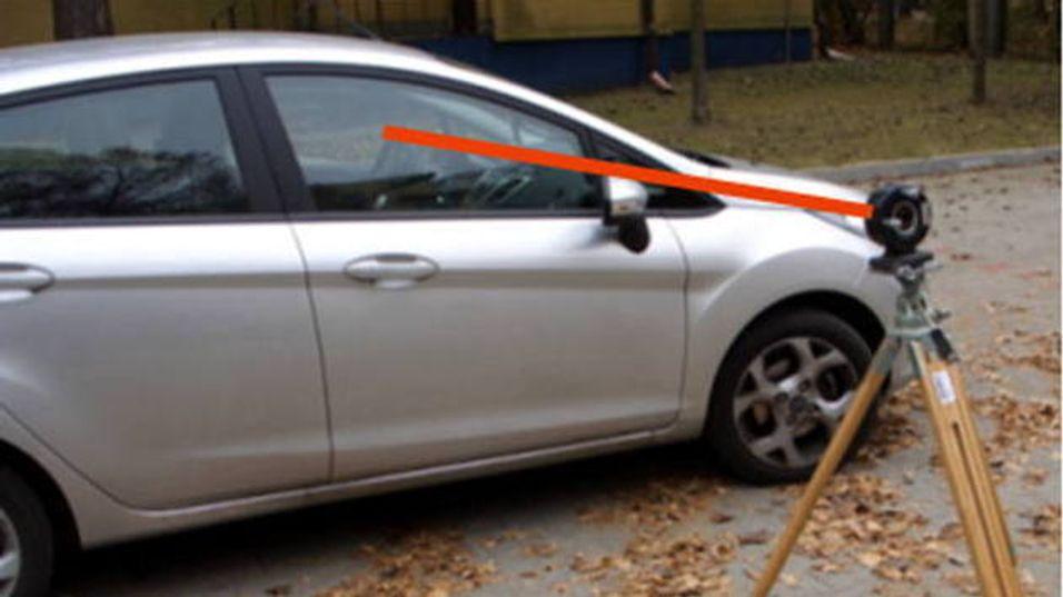 Ny politi-laser kan se om du er full mens du kjører