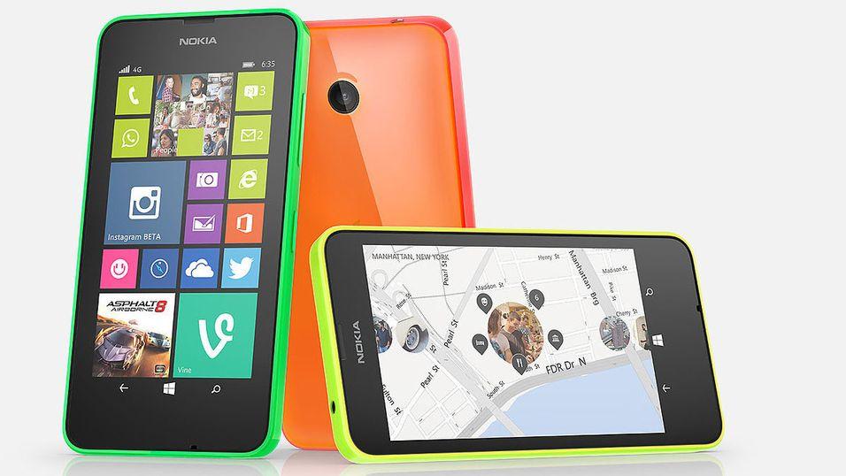 Første 4G-mobil med Windows Phone 8.1 i butikk