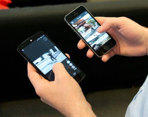 Appene virker på tvers av plattformene, enten det er Android eller iOS.
