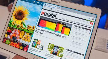 Samsung Galaxy Tab S Samsungs nye nettbrett har de beste skjermene vi har sett