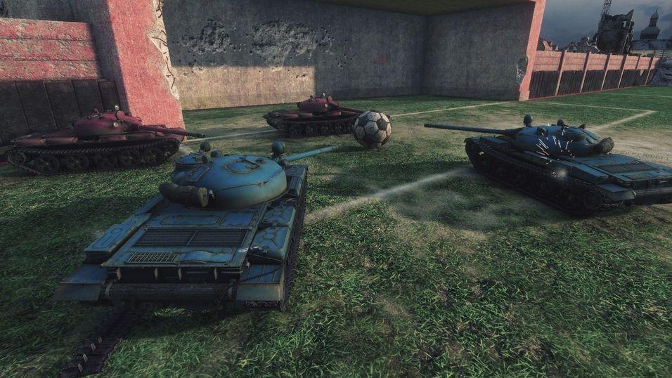 World of Tanks får egen fotballmodus
