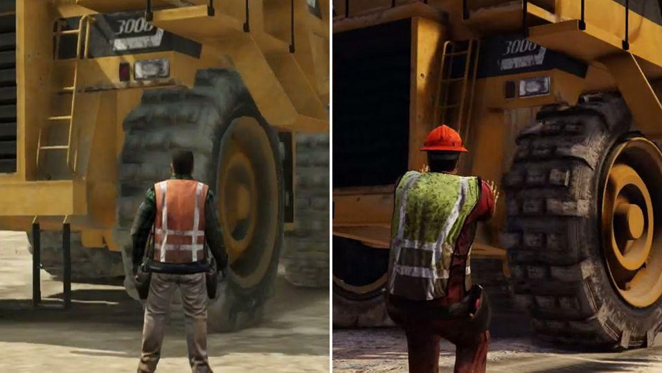 Så mye bedre er grafikken i Grand Theft Auto V på PlayStation 4