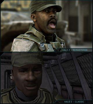 Dei nye filmsekvensane i Halo 2 bringer historia til live på ein dramatisk mykje betre måte enn originalen.