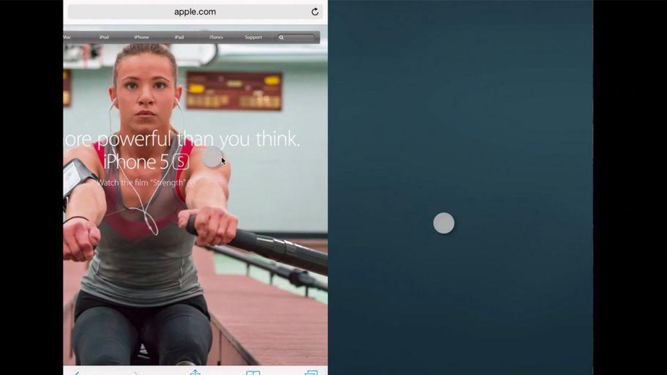 Se hvordan Apple vil dele iPad-skjermen