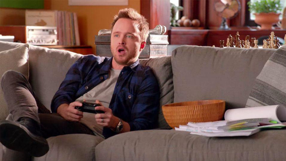 Så fort han sier «Xbox ON», skrus konsollene på.