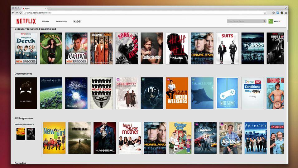 Netflix får høyere månedspris