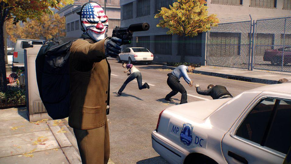Politi og røver-spillet PayDay 2 kommer til de nye konsollene