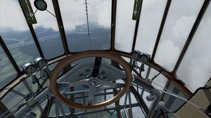Hm, ratt? Da skal jeg nok klare å fly denne greia. (bilde: 1C Game Studios).