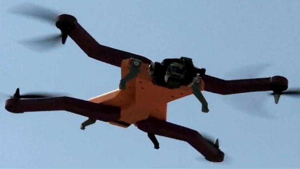 Nå kommer action-dronene