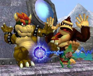 Bowser og Donkey Kong. (bilde: Nintendo).