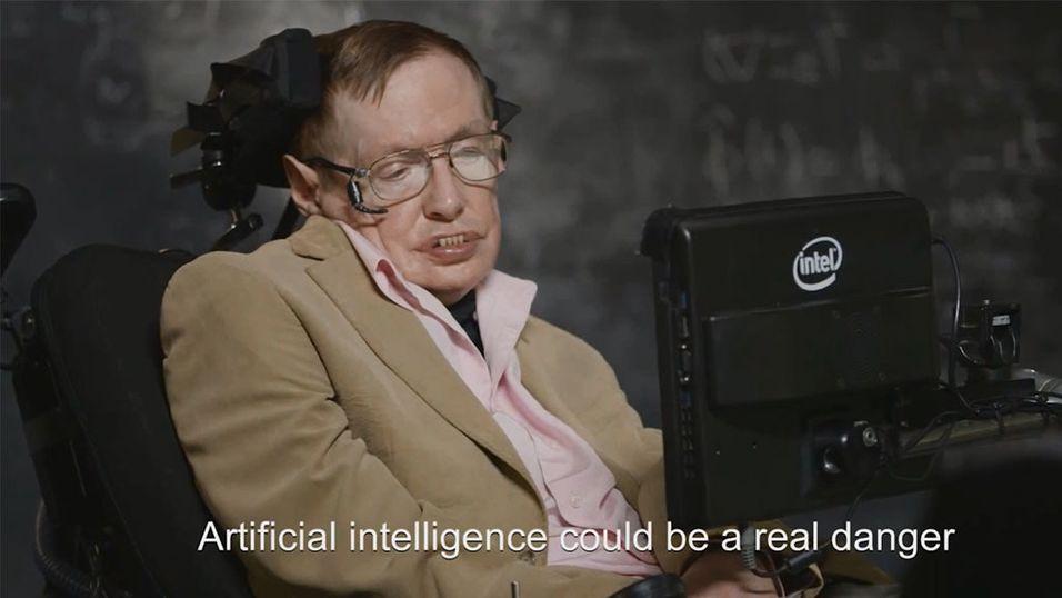 Stephen Hawking snakket med USAs humor-komet