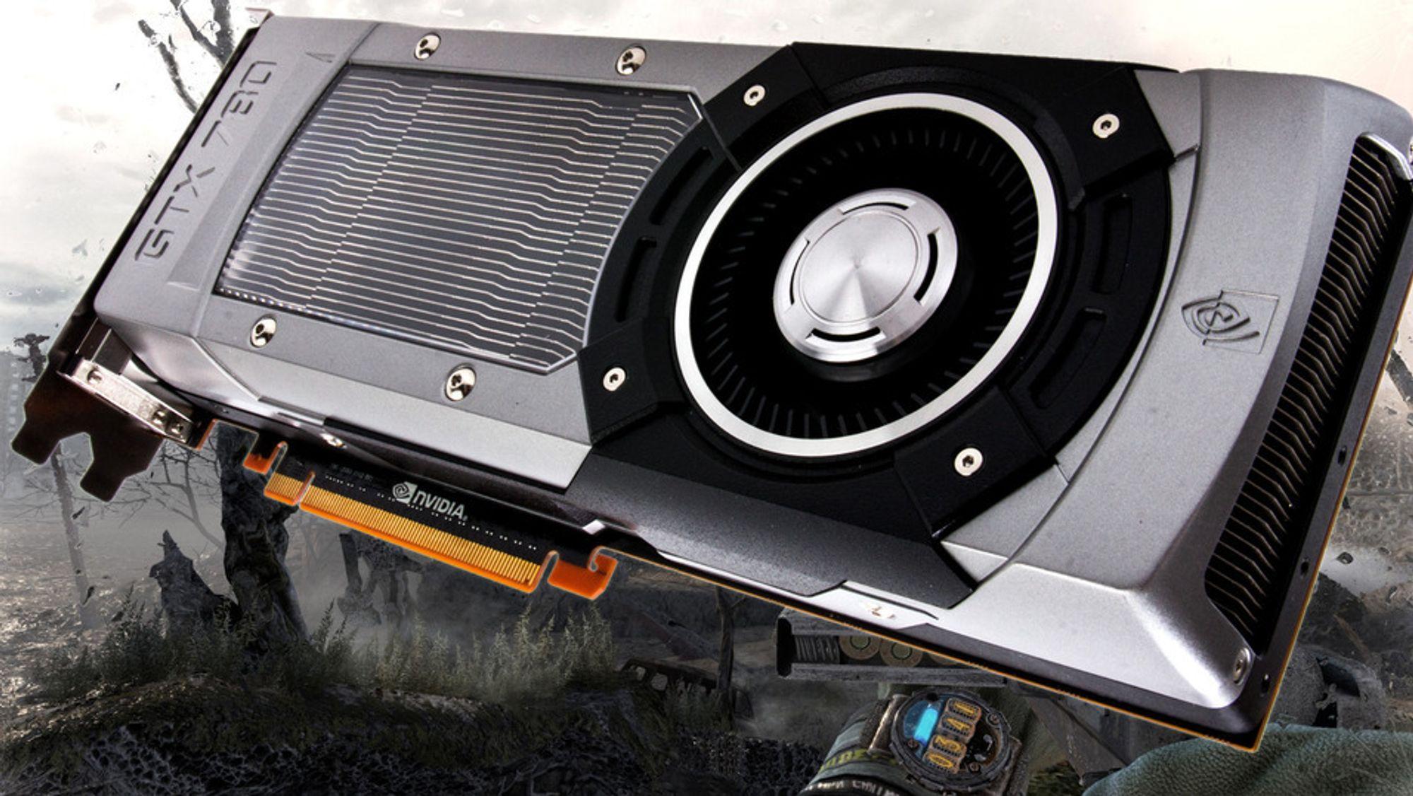 Bildet viser dagens GeForce GTX 780-kort.