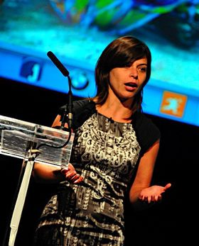 Leila Martine i Microsoft.