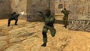 Counter-Strike 1.6. популярнейший онлайн шутер от первого лица. Игра основ