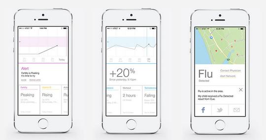 Den medfølgnde appen viser deg statistitikkene og annen informasjon.