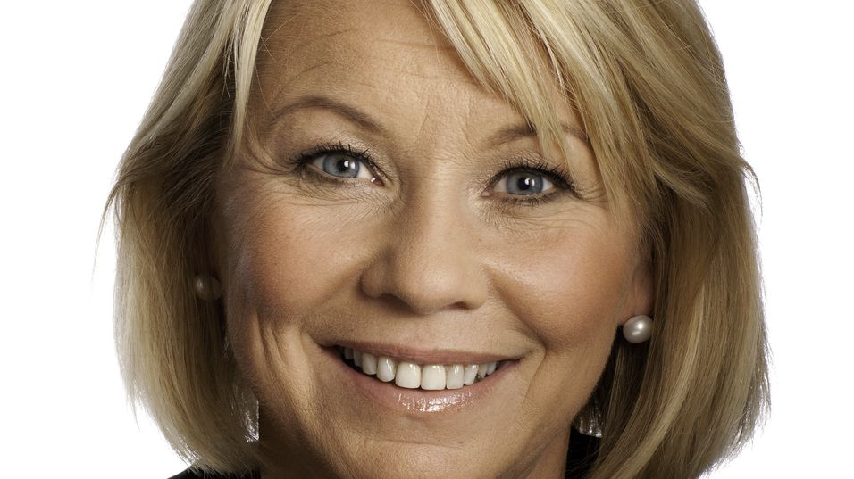 Næringsminister Monica Mæland får flertall for et nedsalg i Telenor.
