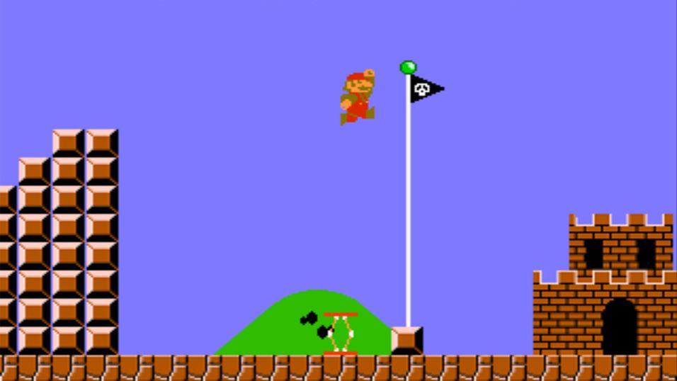 Hvor langt løp egentlig Mario i Super Mario Bros?