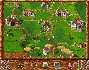 Vi har ikke noen bilder fra spillet, men byr i stedet på et helt eksklusivt, aldri sett før bilde fra originalspillet på Amiga.