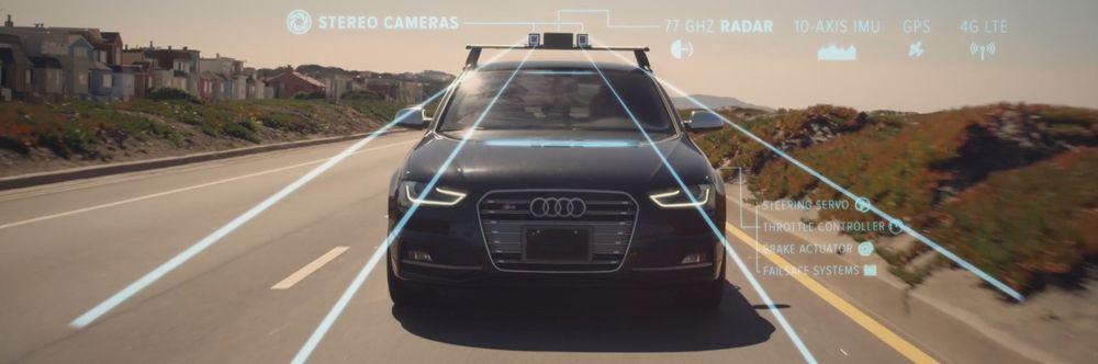 Kameraer, radar og ultrasonisk utstyr gjør at bilen kan «se» mer enn deg.