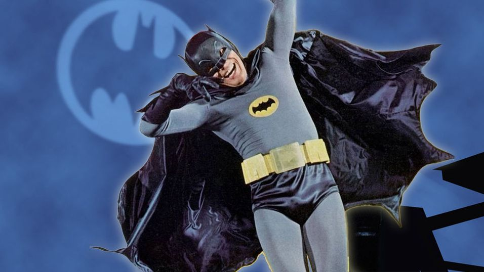 Adam West er mest kjent for sin rolle i 60-tallsserien Batman & Robin.