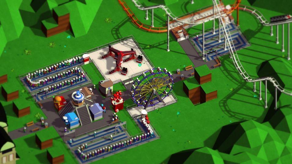 To utviklere lager åndelig oppfølger til Rollercoaster Tycoon