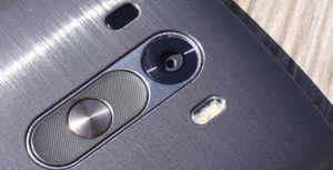 Kameraet i LG G3 fokuserer ved hjelp av laser.
