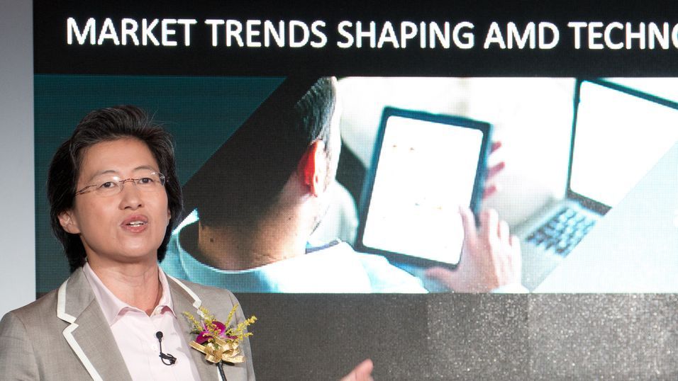Den nye toppsjefen i AMD, Lisa Su.