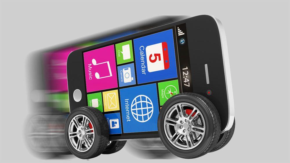 Se hvilke mobiltelefoner som laster ned raskest