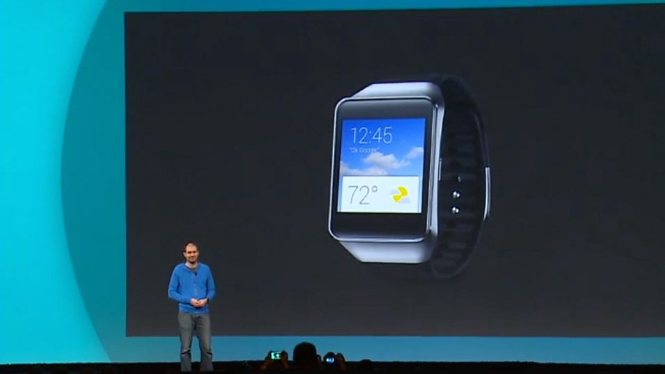 Samsung klar med sin første Android Wear-klokke
