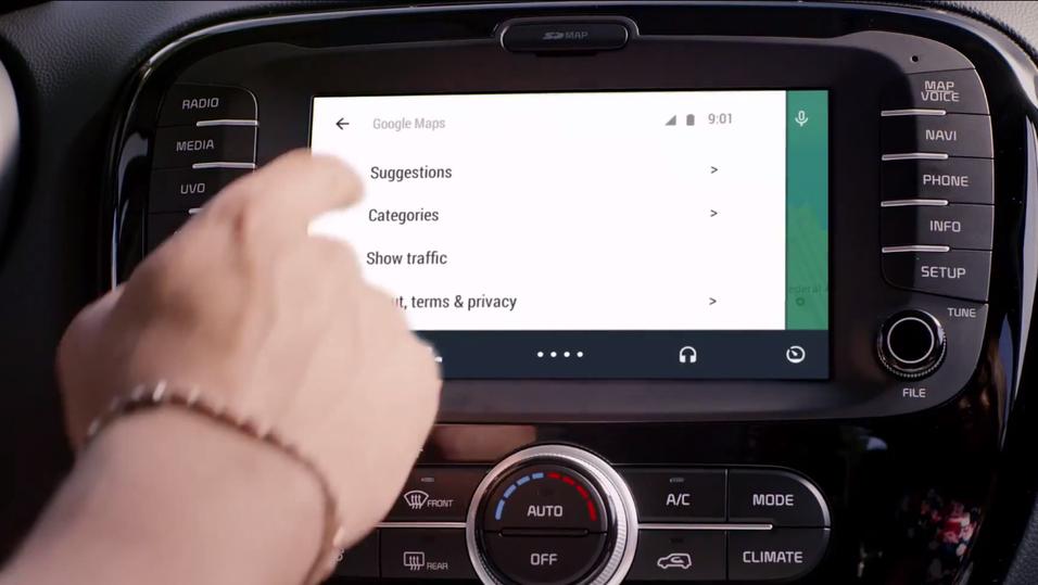 Snart kan Android ta over bilen din