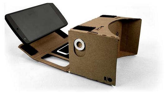 Google Cardboard skal du altså lage selv.