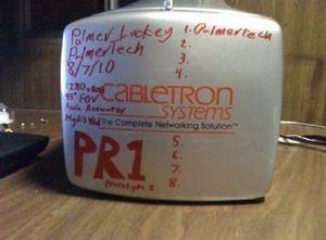 Bilde av en prototype, datert 21. november 2010 – før Carmack ble involvert. (bilde: Oculus VR).