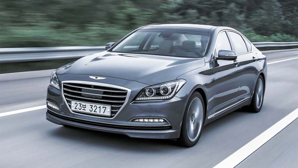Nye Hyundai Genesis.