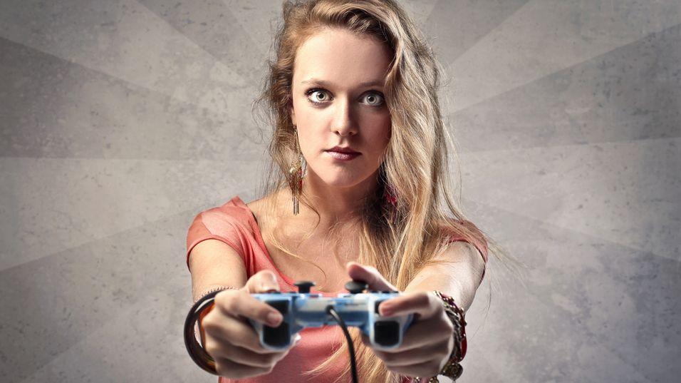 Jenter spiller like mye dataspill som gutter