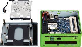 På innsiden har Gigabyte klart å integrere et GeForce GTX 760. Harddisk eller SSD følger dog ikke med.