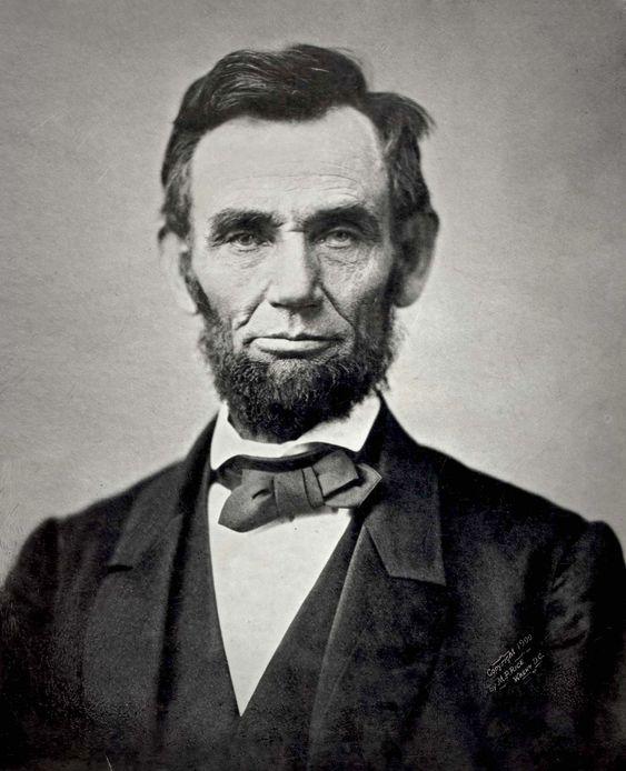 Alvorligere ansikt skal du lete lenge etter. «The Gettysburg Portrait» av Abraham Lincoln.