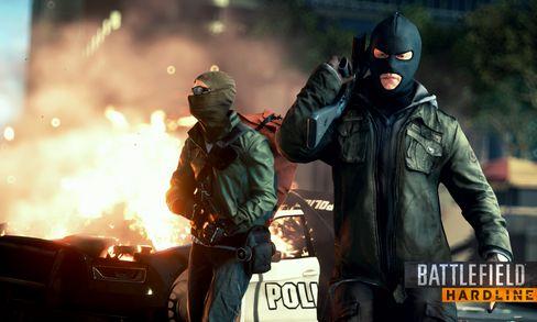 Hard kriminell aktivitet i Battlefield Hardline.