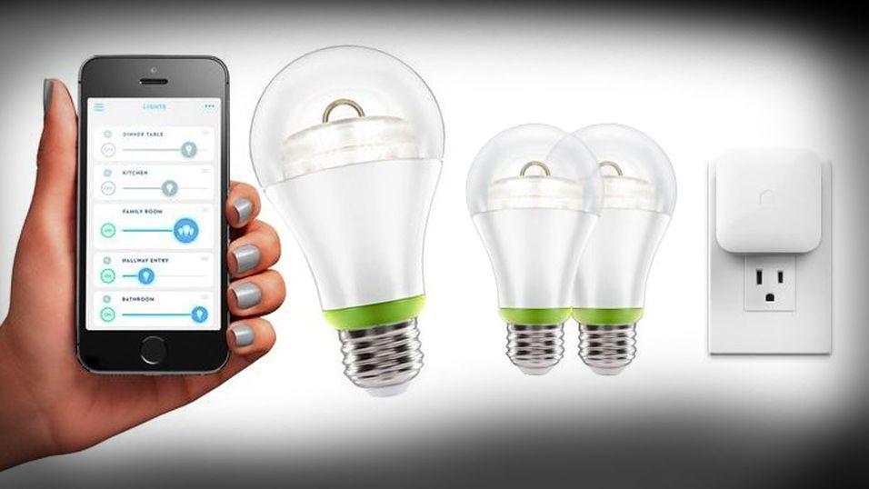 Snart kan det komme  billige  smartlyspærer