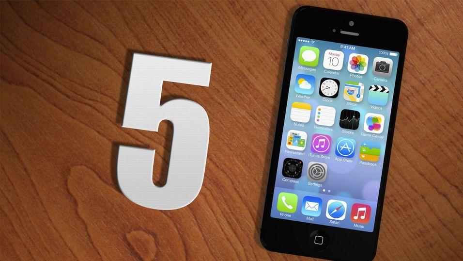 Fem triks alle iPhone-eiere bør kunne