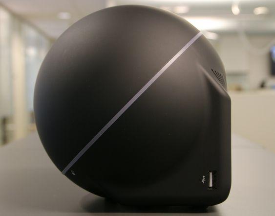 Ja, Zbox Sphere OI520 har en fasong utenom det vi vanligvis ser hos PC-er.