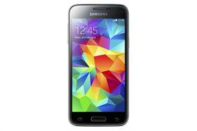 Skjermen i Galaxy S5 Mini har fått mye høyere oppløsning enn forrige Mini-modell fra Samsung. Det er likevel et stykke opp til toppmodellens full-HD-skjerm.