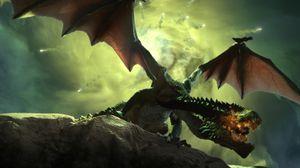 At spillet inneholder drager burde ikke overraske noen.