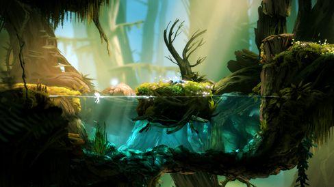 Vakre Ori And The Blind Forest ser ut til å kunne trollbinde dei fleste.