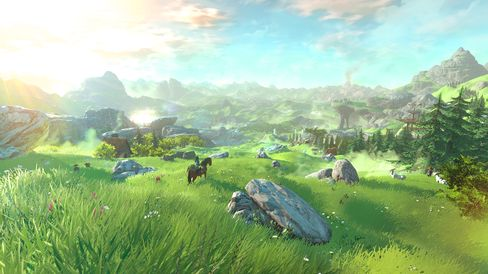 Det kommende Zelda-spelet imponerte.