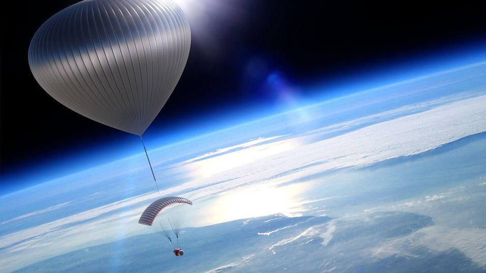 Vil løfte turister 30 km opp i luften
