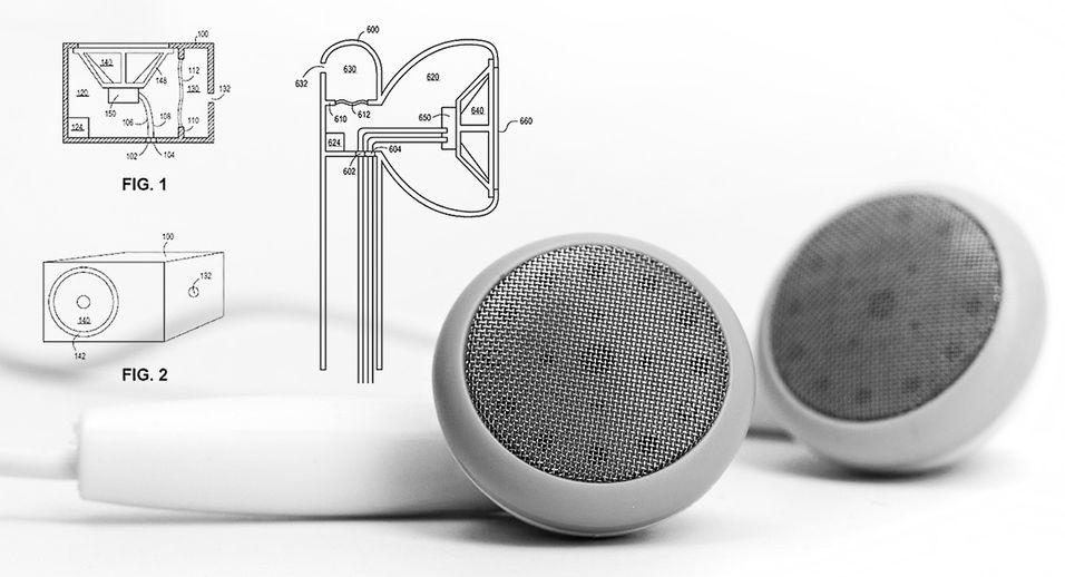 Apple har fått innvilget et patent som som viser hvordan gass kan brukes i veldig små høyttalere.