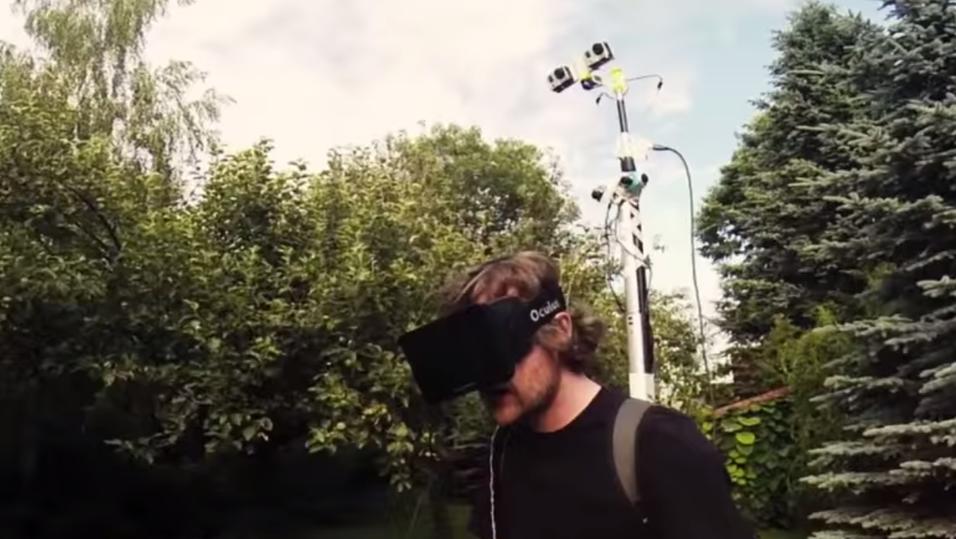 Hjemmelaget kamerarigg gir deg en «ut av kroppen»-opplevelse