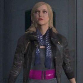Slik ser spillkarakteren Lacey Jonas ut.
