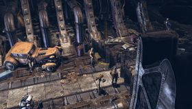 InSomnia foregår på et forfallent romskip.